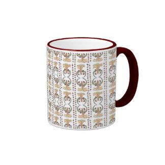 Flowerpots - African Design Ringer Coffee Mug