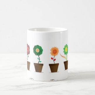 Flowerpots Classic White Coffee Mug