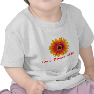 flowerpower colorful daisy, I'm a flower child Shirts