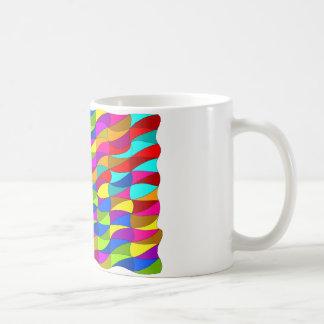Flowerpower confused pattern coffee mug