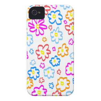 FlowerPower iPhone 4 Protectores