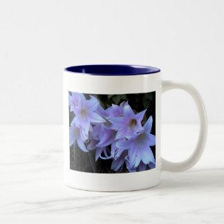 flowers2 Two-Tone coffee mug