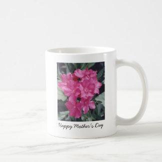 flowers3, el día de madre feliz taza clásica