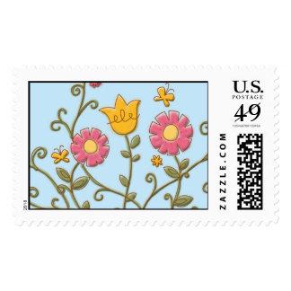 flowers3 postage