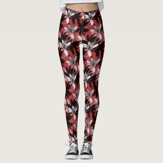 Flowers 12481 - Leggings