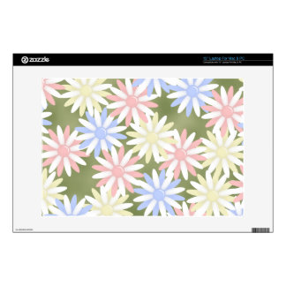 "Flowers 13"" Laptop Skin for Mac or PC"