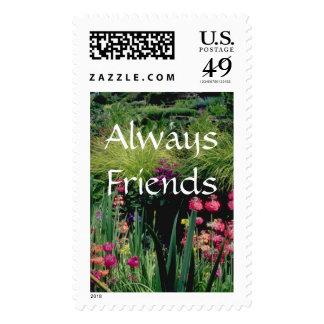 Flowers 149 Always Friends Postage Stamp