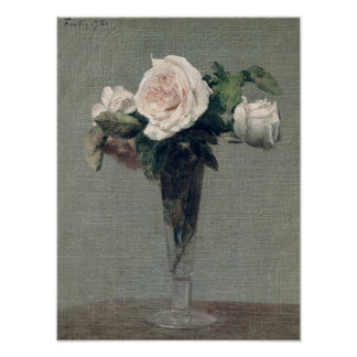 Flowers, 1872 poster