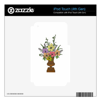 Flowers 1 iPod touch 4G decal
