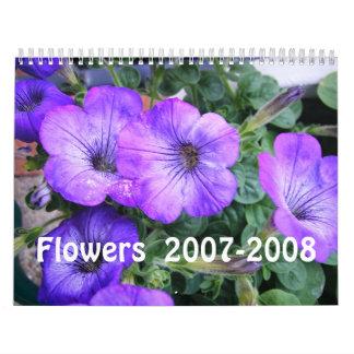 Flowers  2007-2008 calendar