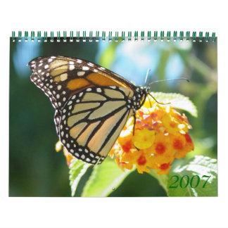 Flowers 2007 calendars