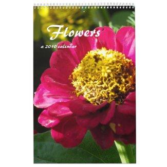 Flowers 2010 Calendar calendar