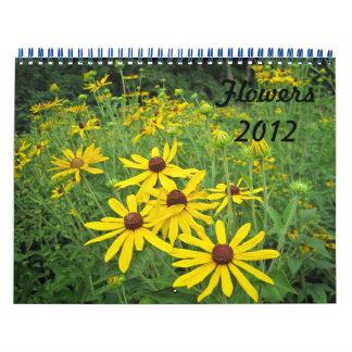 Flowers 2012 calendar