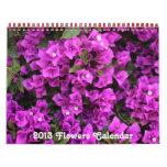 Flowers 2013 Calendar