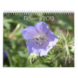 FLOWERS 2013 CALENDAR (16 MONTHS)