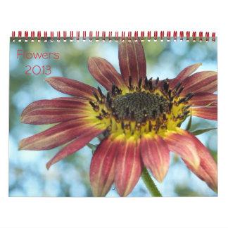 Flowers 2013 Calender Wall Calendars