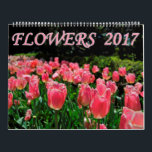 """Flowers 2017 calendar<br><div class=""""desc"""">A collection of interesting and colorful flowers from across the country. From the lush Arboretums of Long Island to the California Desert</div>"""