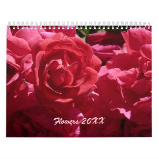 Flowers 20XX Calendar