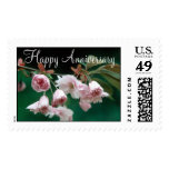 Flowers 295 Happy Anniversary Postage Stamps