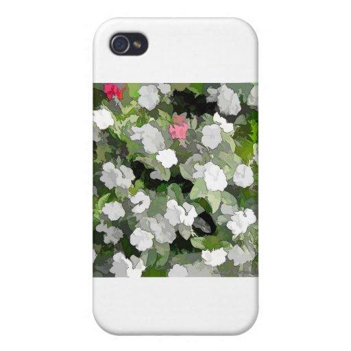 FLOWERS-29S iPhone 4/4S CARCASA