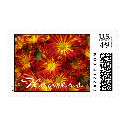 Flowers 2 postage
