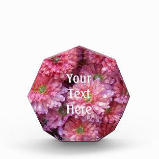 Flowers 32 - Pink Acrylic Award