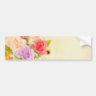 flowers-342299 florece las flores artificiales etiqueta de parachoque