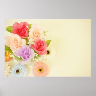 flowers-342299 florece las flores artificiales póster