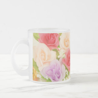 flowers-342299  flowers artificial flowers orange frosted glass coffee mug