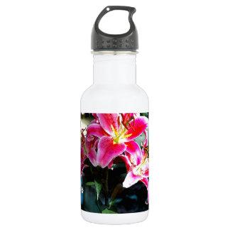 Flowers 349 stainless steel water bottle