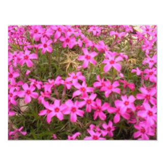 FLOWERS 4.25X5.5 PAPER INVITATION CARD