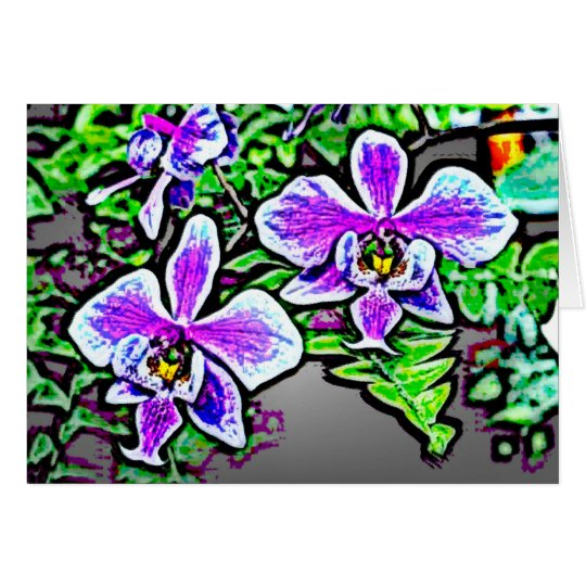 Flowers 71 card