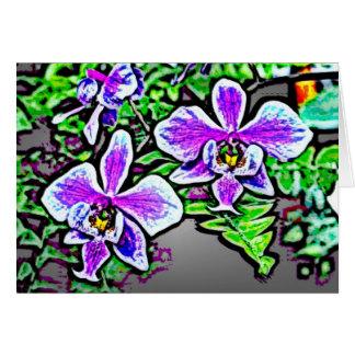 Flowers 71 greeting card