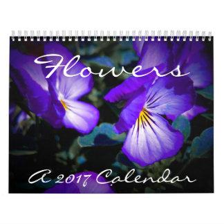 Flowers - A 2017 Calendar