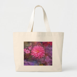 Flowers - A Visual Bouquet for Mom Large Tote Bag