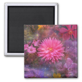 Flowers - A Visual Bouquet for Mom Magnet