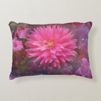 Flowers - A Visual Bouquet for Mom Accent Pillow