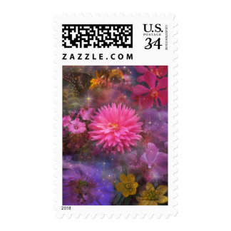 Flowers - A Visual Bouquet for Mom Postage
