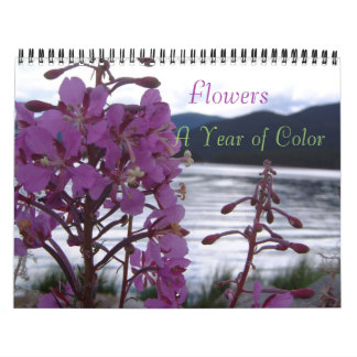Flowers , A Year of Color Calendar