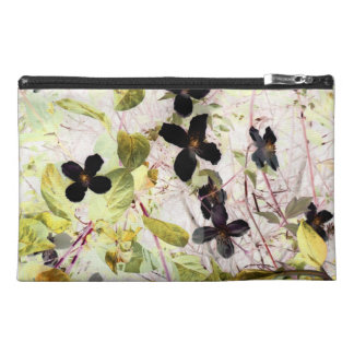 flowers abstract 55 travel accessory bag