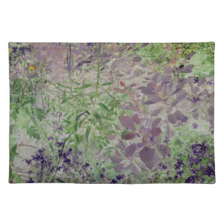 flowers abstract placemats