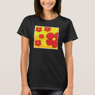 Flowers Abstract T-Shirt
