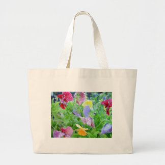 Flowers After a Rain Canvas Bags