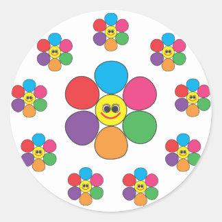 Flowers all around sticker