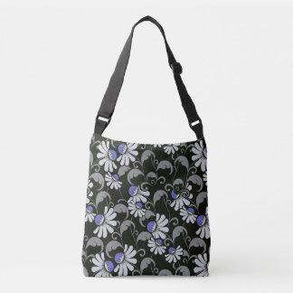 flowers All-Over-Print Cross Body Bag