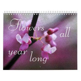 Flowers All Year Long Calendar