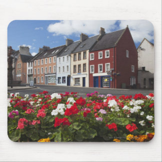 Flowers Along A Street In A Residential Area Mouse Pad