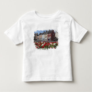 Flowers Along A Street In A Residential Area Toddler T-shirt