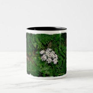 Flowers amongst Leaves Mug