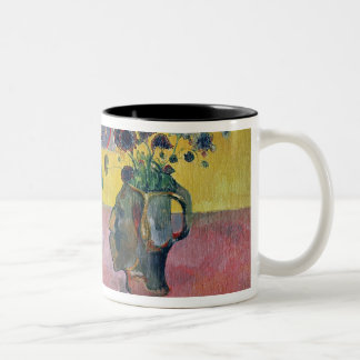 Flowers and a Japanese Print, 1889 Two-Tone Coffee Mug